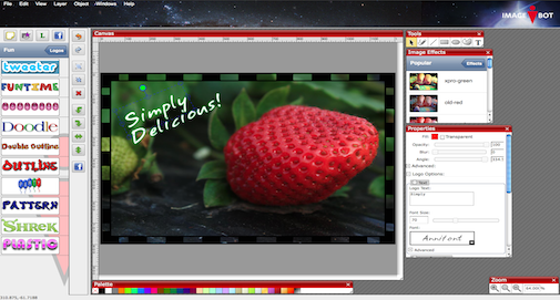 free online photo and image editor