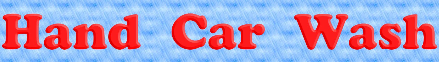 Hand Car Wash logo. Free logo maker.  Hand Car Wash l...