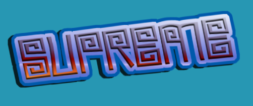 SUPREME Logo. Free Logo Maker.
