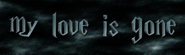 my love is gone logo free logo maker
