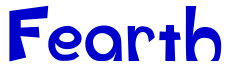 Fearth font