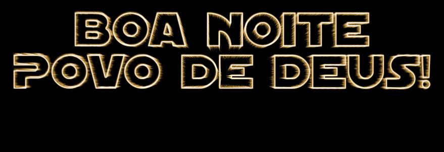 Boa Noite Povo De DEUS! Logo. Free Logo Maker