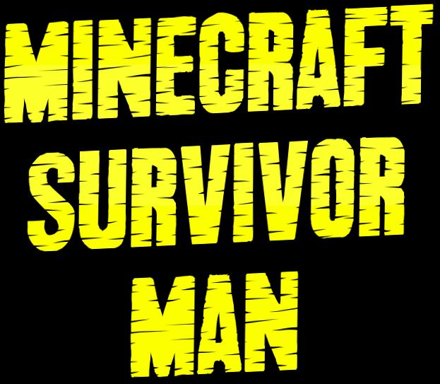Minecraft Survivor Man logo  Free logo maker